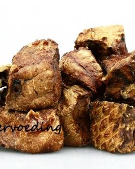 250 gram Gedroogde Lamslongblokjes