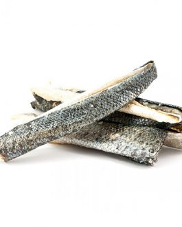 150 gram Zalmhuiden stukjes